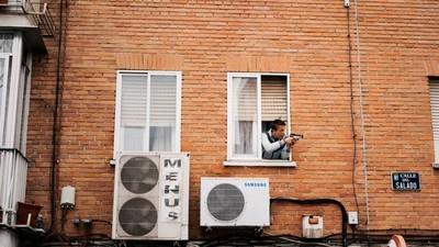 Billeder af hverdagen i et af Madrids hårdeste kvarterer