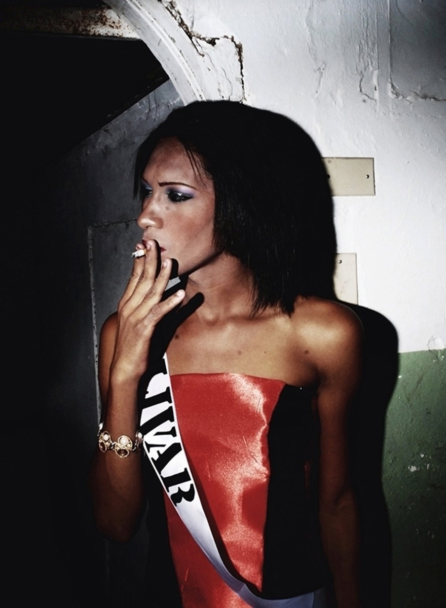 Die glamourösen Schönheiten des Miss Gay Lady Venezuela