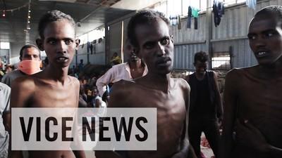 Obchodování s uprchlíky v Libyi