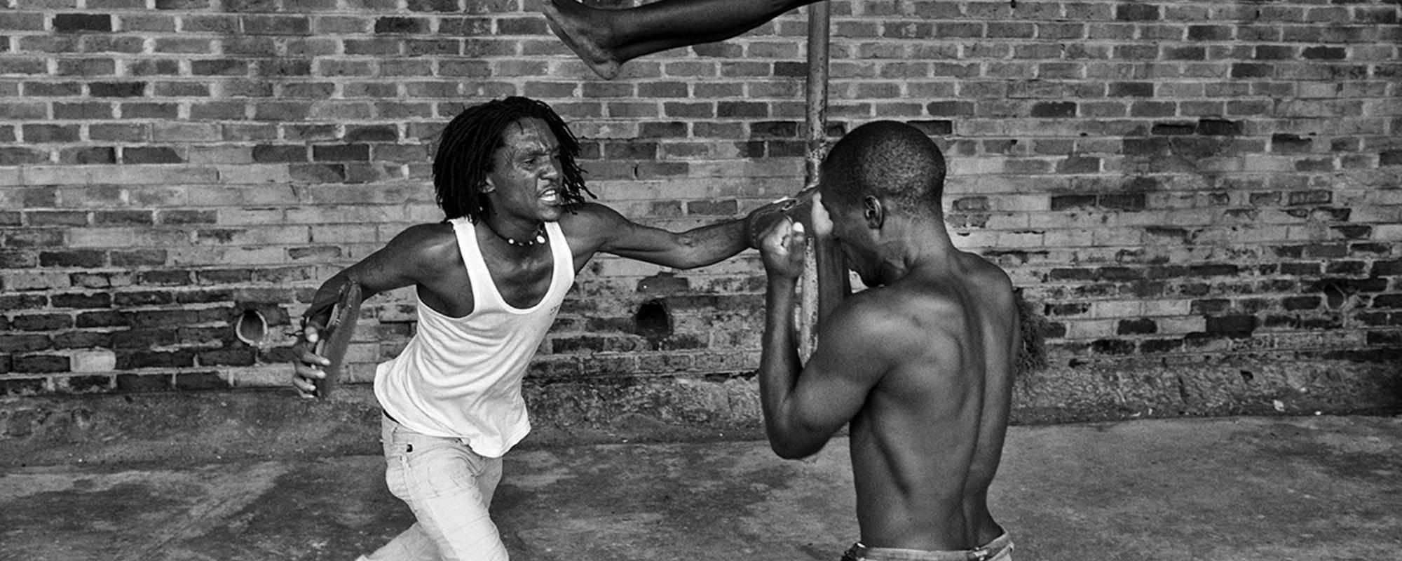 Een stampvolle gevangenis in Malawi