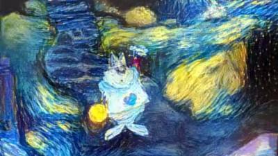 Así habría sido 'Alicia en el país de las maravillas' pintada por van Gogh