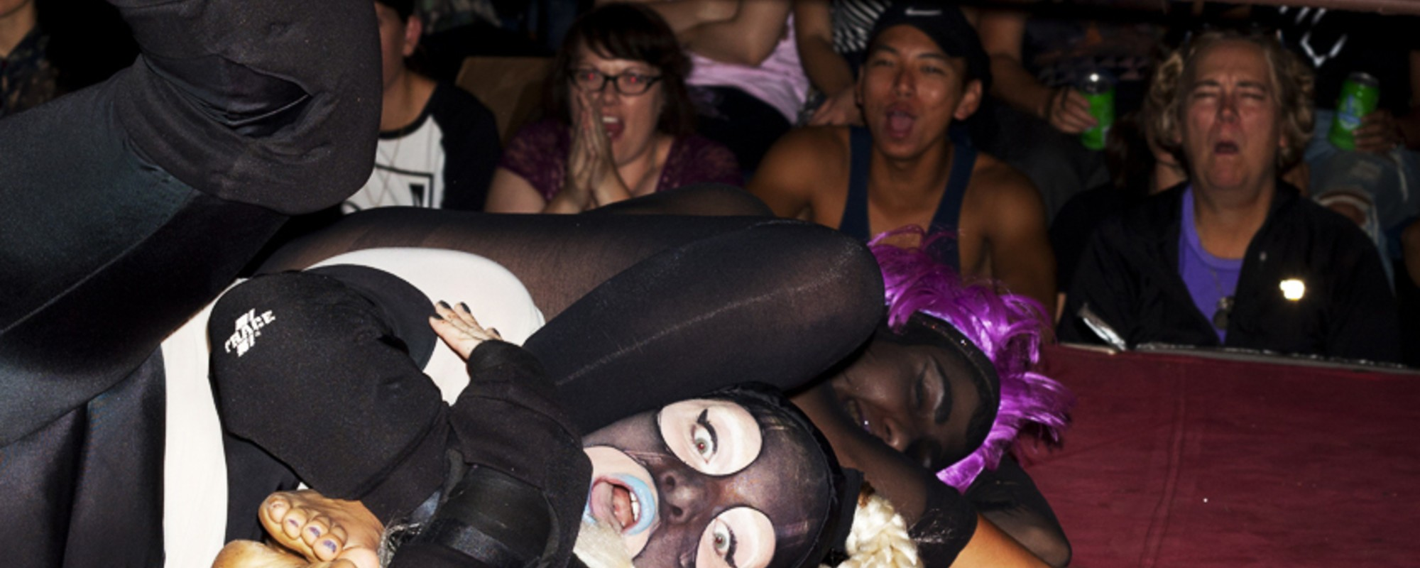 Photos of Toronto's League of Lady Wrestlers