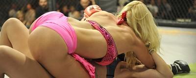 El MMA en lencería es todo lo que estabas esperando