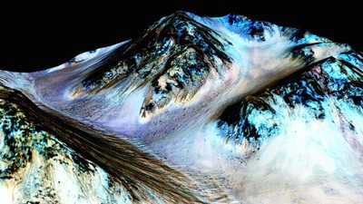 Water on Mars Means We Might Be Martians, Says NASA