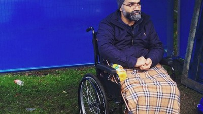 Exclusive: This Video of the Eviction of a Disabled Man Shows the Heartlessness of London's Housing Crisis