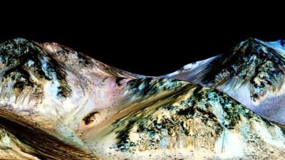 De l'eau sur Mars : ce que la NASA a annoncé exactement