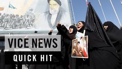 Iranienii protestează pentru tragedia de la Mecca