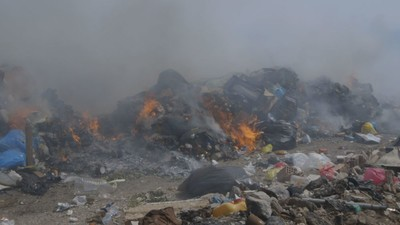 Can Anyone Shut Down Greece's Volcano of Burning Garbage?