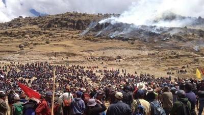 Cuatro activistas mueren en Perú tras una manifestación contra la minería