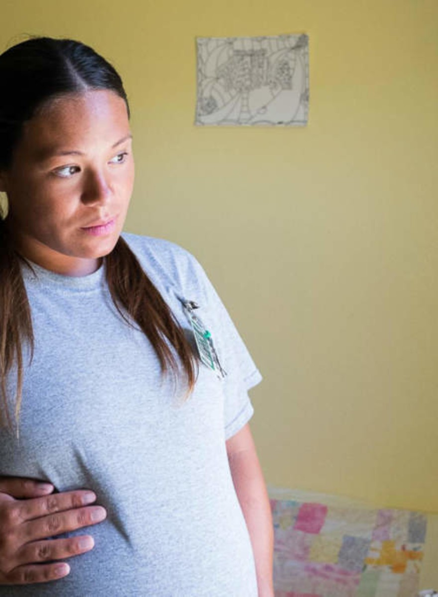 La vida de las mujeres con bebés en la cárcel