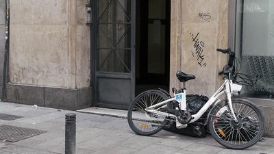 Cosas que hacemos como el culo con las bicis del Ayuntamiento de Madrid