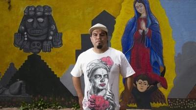 Los nuevos artistas de Tepito quieren dejar atrás la violencia y los estigmas