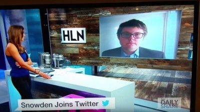 HLN Invited Twitter Dude @Fart to Talk About Snowden on TV, and He Talked About Edward Scissorhands Instead