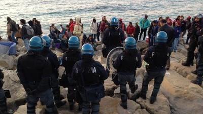 Un'attivista ci ha raccontato cos'è successo oggi allo sgombero di Ventimiglia