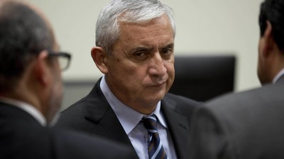 Jailed Former President of Guatemala Wants a TV