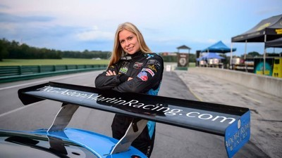 A Danish Woman's Chance to Become the First Female IMSA Champion