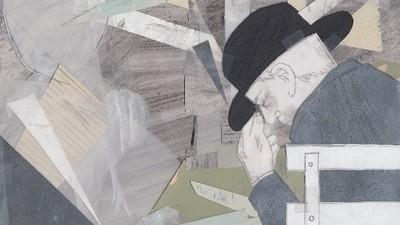 Een Vlaamse illustrator maakte vijf jaar lang tekeningen van haar dementerende vader