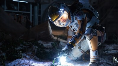 Inside the Sci-Fi Future Spaceship from 'The Martian'