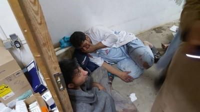 Un asistent ne-a descris ororile inimaginabile petrecute în timpul bombardamentelor care au lovit spitalul Doctori fără Frontiere