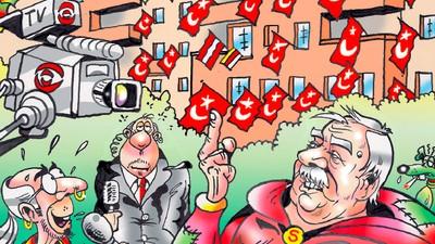 Der neue FPÖ-Comic und wer dahinter steckt