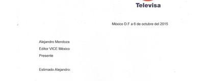 Derecho de réplica: Televisa nos mandó una carta sobre la nota del 'Reto del pasecito'