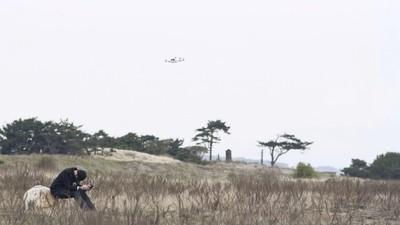 El cristiano que vuela un dron para Dios