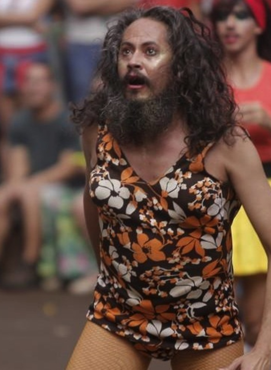 Photos from Brazil's Drag Dodgeball Championship