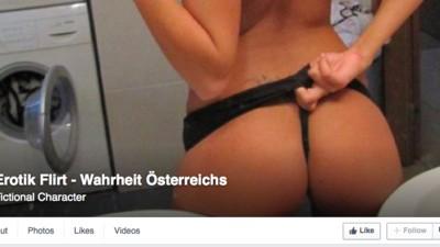 """Die Seite """"Erotik Flirt – Wahrheit Österreichs"""" vermischt Porno mit rechtem Gedankengut"""