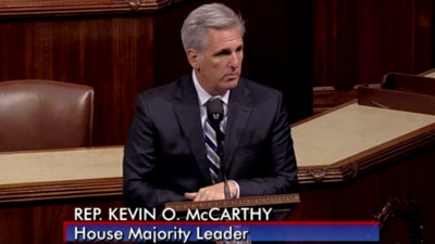 Kevin McCarthy Just Announced He Won't Take Over as Speaker of the House