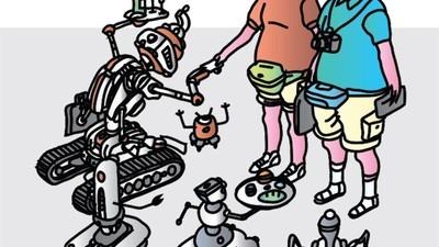 Les trop gentils robots japonais