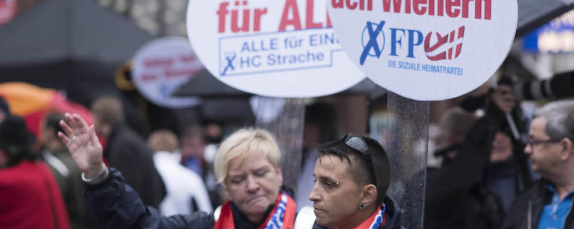 Fotos vom Wahlkampffinale der FPÖ