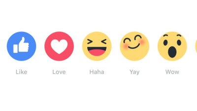 """I nuovi sette tasti """"Mi Piace"""" di Facebook sono sei di troppo"""