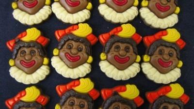 In België maakt niemand zich druk om plaatjes van Zwarte Piet op strooigoed