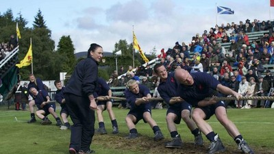 In Scotland, Tug Of War Is More Than A Sport