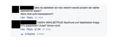 Die Reaktionen auf die Wien-Wahl nach Dummheit sortiert