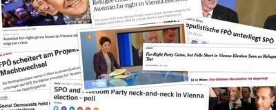 Ausländische Medien finden das Wiener Wahl-Ergebnis gar nicht so beruhigend