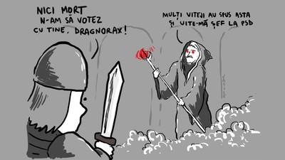 De alegerile în PSD, Dragnea a bătut-o pe Sf. Parascheva