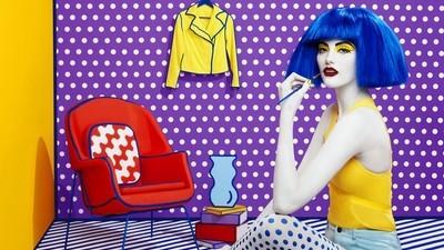 Estas fotografías te harán sentir en un cuadro de Lichtenstein