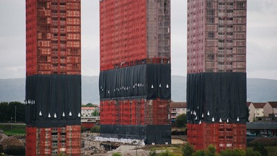 We Watched Glasgow's Iconic Red Road Tower Blocks Being Demolished