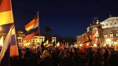 In Deutschland wird es kälter: Pegida ist zurück