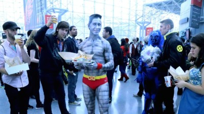 Awash in a Sea of Humanity at the 2015 New York Comic Con