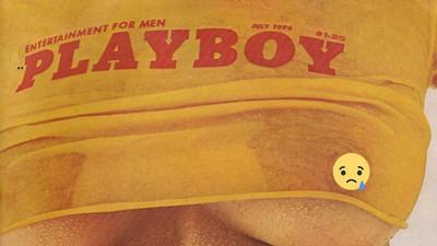 Playboy se queda sin tetas: toda una generación de hombres de luto