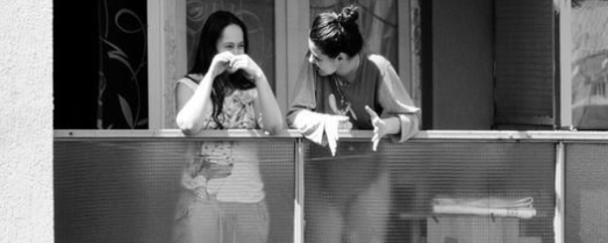 Voyeurské fotky studentského života