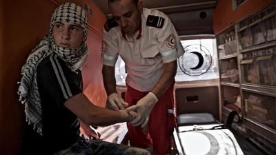 Mee met de ambulance in de Westelijke Jordaanoever
