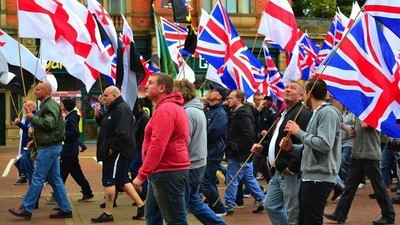 A British Far-Right Rally This Weekend Was a Complete and Utter Embarrassment