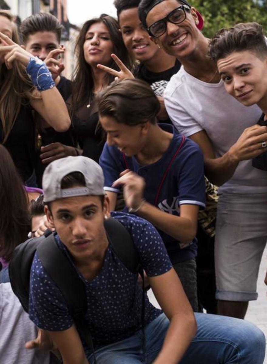 Photos of Madrid's Teenage Posers