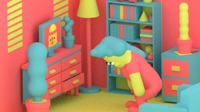 A Woman Tries Out a New Workout Routine in Today's Comic from Julian Glander