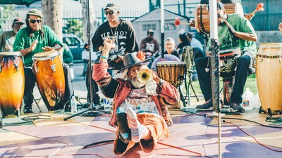 The Skid Row Arts Festival Was Full of Beautiful Weirdos with Lots to Say