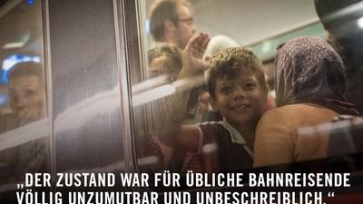Das Schreiben der Westbahn ist ein Schlag ins Gesicht jedes Flüchtlings