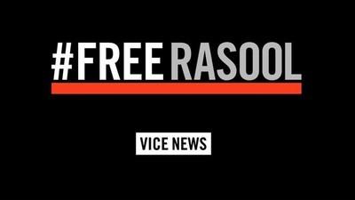 #FreeRasool: Shane Smith a VICE Media vyzývají k novinářovu propuštění